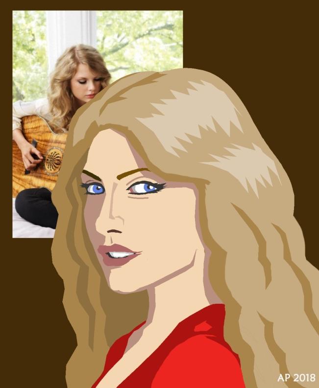 taylorswift-portrait-redblouse-longwavysandycurls-brownbackdrop-photocomparison_ap-CSPP-11501400-1